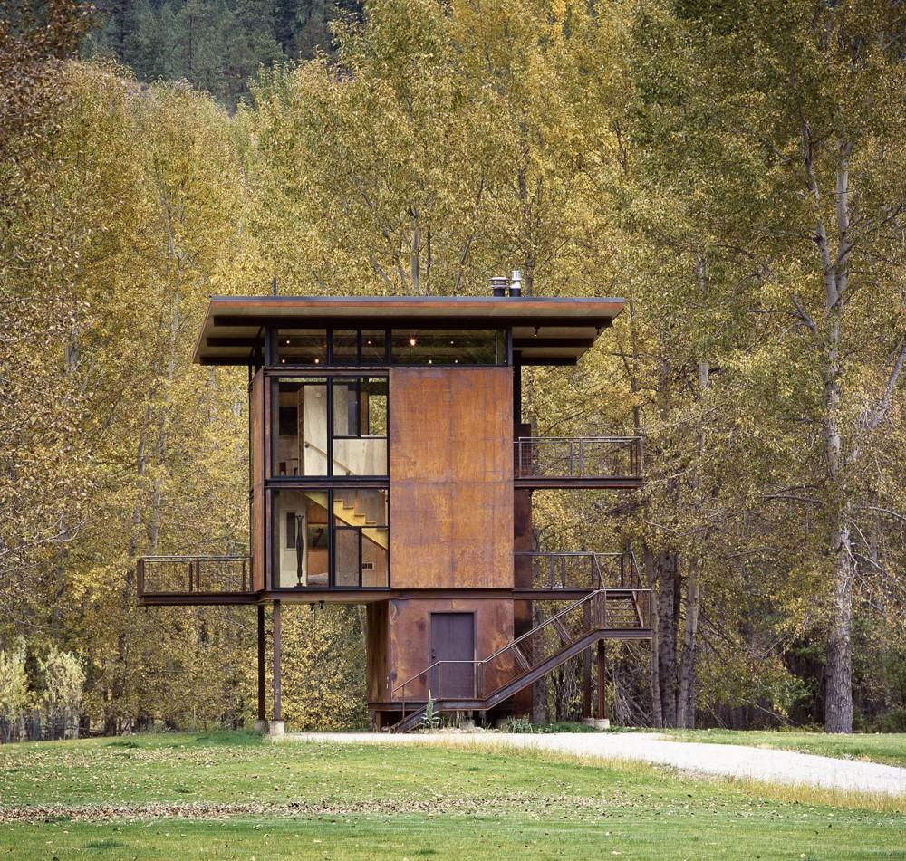 Delta Shelter / Olson Kundig Architects © Benjamin Benschneider