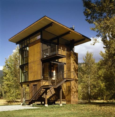 Delta Shelter / Olson Kundig Architects   ArchDaily