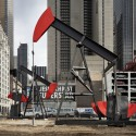 Phantom Oil Pumps and a Soaring Marble Column (4) Manhattan Oil Project - Photo Credit: James Ewing