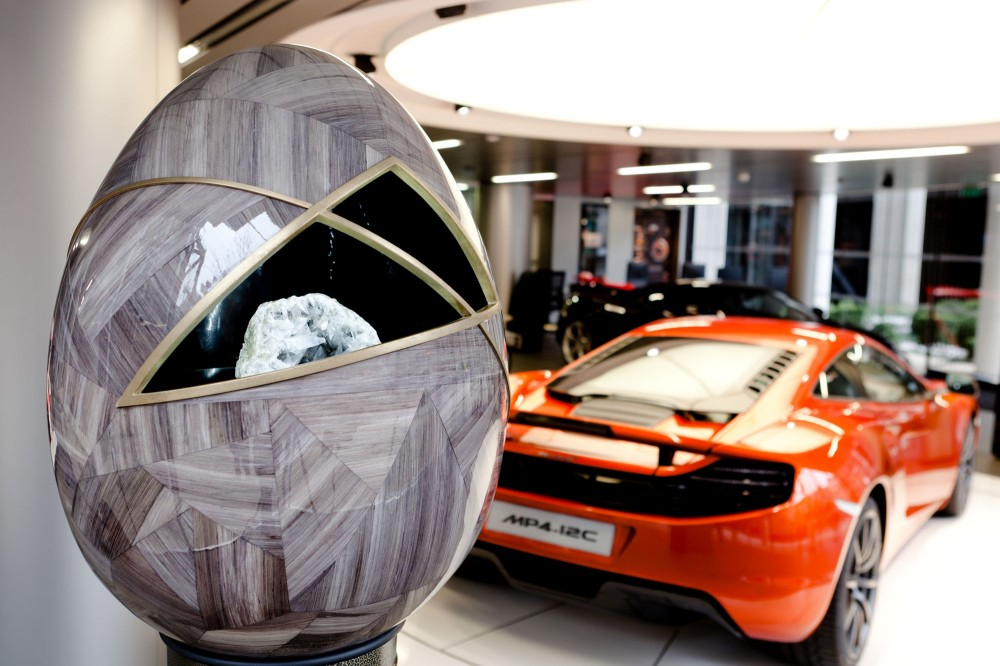 Faberg Big Egg Hunt Features Designs by Leading Architects