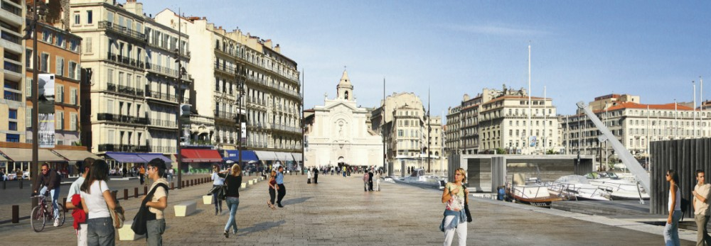 Masterplan for Marseilles Vieux Port / Foster + Partners