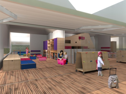 CEDEI Nursery School / +K Arquitetos | ArchDaily