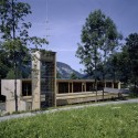 Fire Station And Mountain Rescue Building / Dietrich Untertrifaller Stheli Architekten  Bruno Klomfar