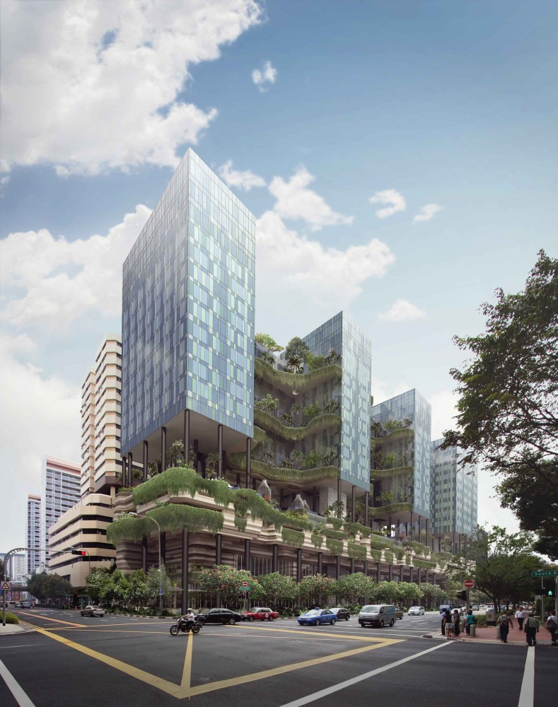 In Progress: PARKROYAL on Pickering / WOHA