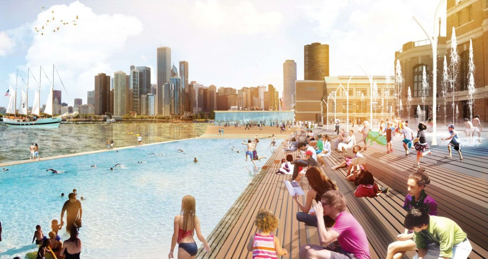 James Corner Field Operations Team Wins Navy Pier Competition