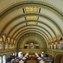 &quot;American City: St. Louis Architecture: Three Centuries of Classic Design&quot; Exhibition (3) main waiting room