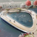 &#039;The Rink&#039; Pedestrian Bridge Proposal (1) Courtesy of Kamvari Architects