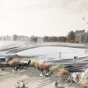 &#039;The Rink&#039; Pedestrian Bridge Proposal (2) Courtesy of Kamvari Architects