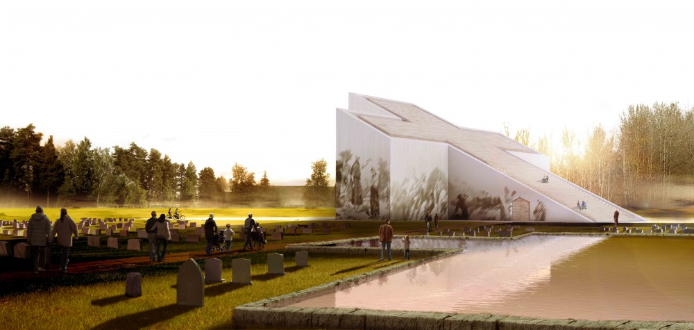 New Church of Vaaler Proposal / CEBRA