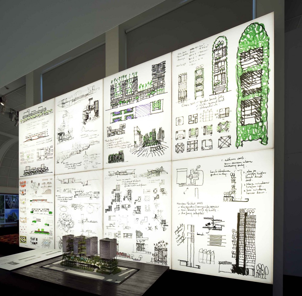 Update: WOHA's 'Breathing Architecture' Exhibition