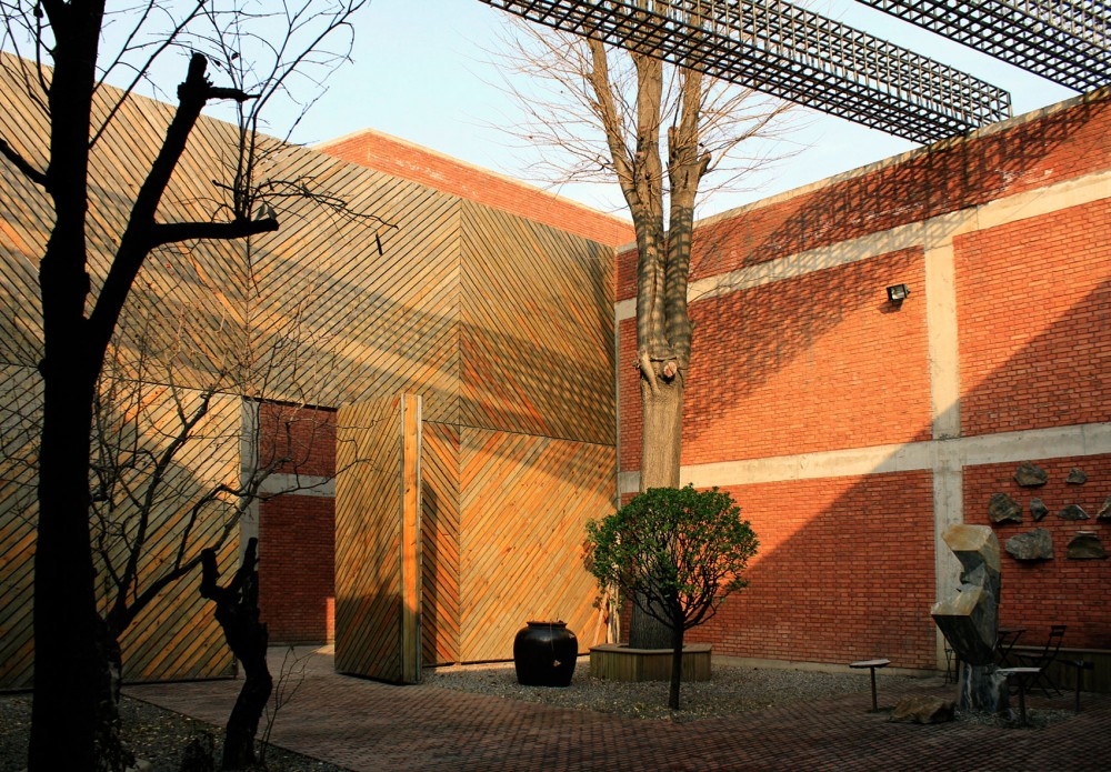 Grey Brick Galleries, Red Brick Galleries, Three Shadows Photographic Centre by Ai Weiwei at Cao Chang Di, Beijing