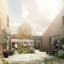 Cancer Counseling Center Proposal (6) inner courtyard