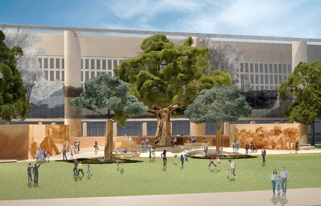 Gehry is Open to Change as the Eisenhower Memorial Controversy Continues On