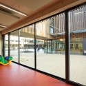 School Center Lucie Aubrac / Dietmar Feichtinger Architectes © Dietmar Feichtinger Architectes