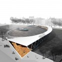 Amsterdam Iconic Pedestrian Bridge Competition Winners (1) 1st prize - Courtesy of Nicolas Montesano, Victor Vila, Boris Hoppek
