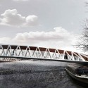 Amsterdam Iconic Pedestrian Bridge Competition Winners (2) 1st prize - Courtesy of Nicolas Montesano, Victor Vila, Boris Hoppek