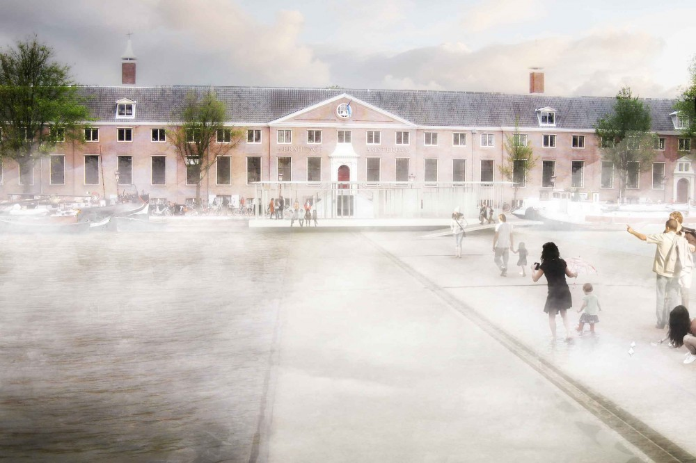 Amsterdam Iconic Pedestrian Bridge Competition Winners