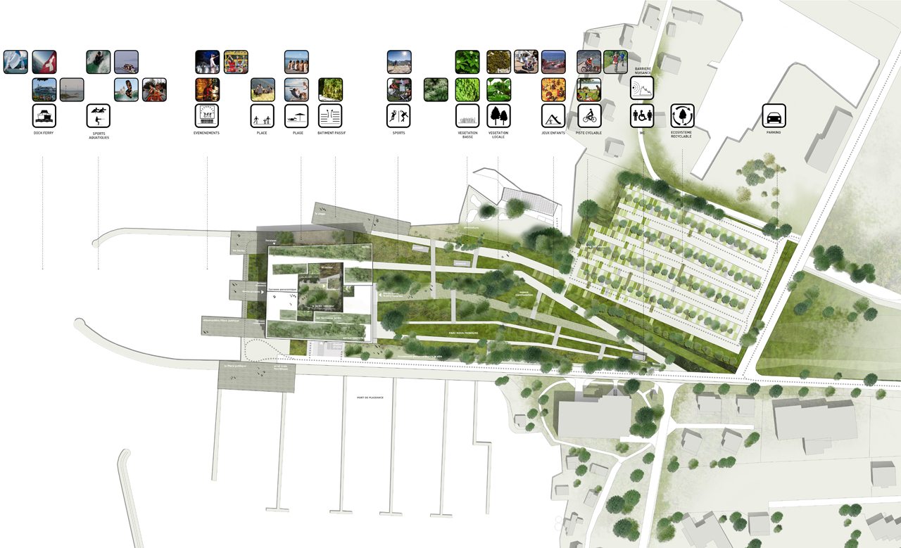 Stavia 2012 hotel proposal marciano architecture Green plans