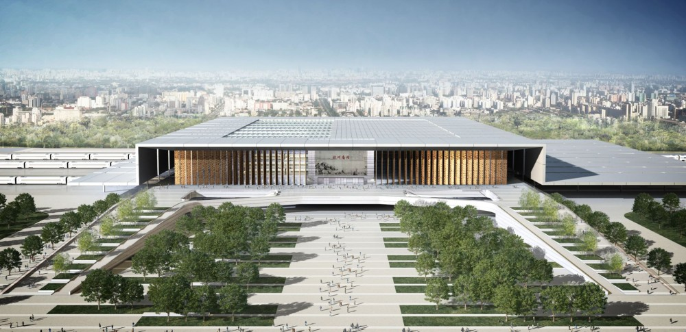 Hangzhou South Railway Station / gmp Architekten