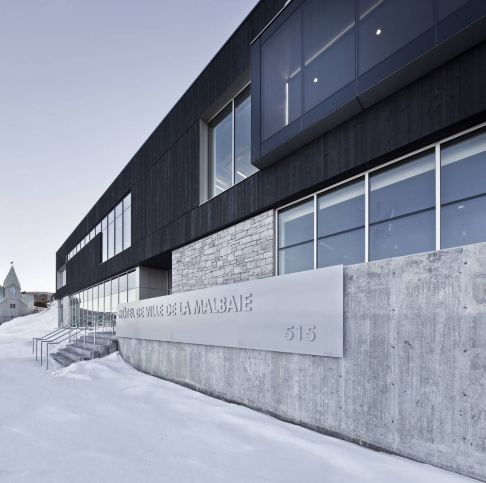 Conan Library and City Hall of Ville de La Malbaie / acdf* + Bisson + Desganés Architectes in Consortium