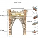 Tehran Tower (6) section diagram