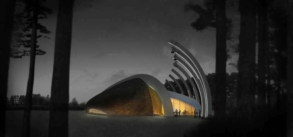 New Church of Våler Proposal / Francesco Fiotti