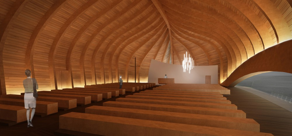 New Church of Vler Proposal / Francesco Fiotti