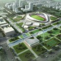 Nantong Sports Center Winning Proposal (1) Courtesy of Henn