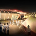 Nantong Sports Center Winning Proposal (3) Courtesy of Henn