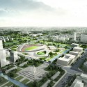 Nantong Sports Center Winning Proposal (2) Courtesy of Henn