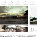 Amsterdam Iconic Pedestrian Bridge Proposal (12) competition board
