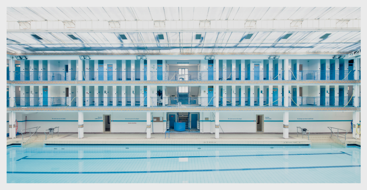 Piscine Pontoise Paris 5e photo signée Franck Bohbot