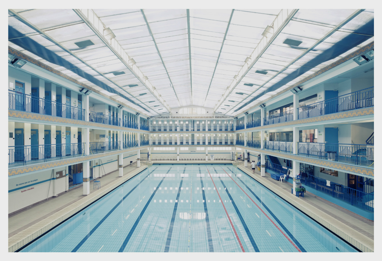 Architecture photography respect the architect franck for Piscine paris