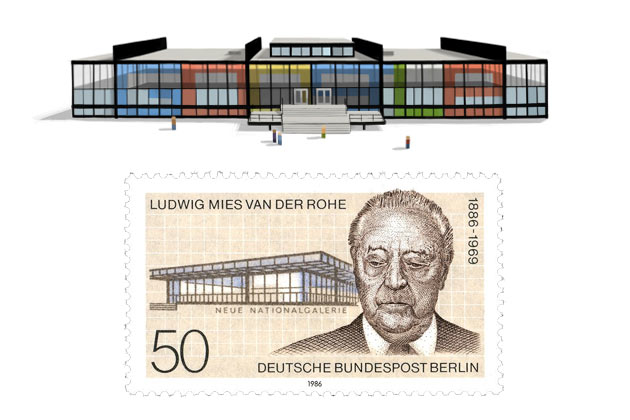Happy 126th birthday Mies van der Rohe!