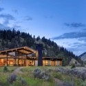 River Bank House / Balance Associates Architects © Steve Keating Photography