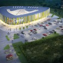 SiloCenter Sports and Leisure Center (2) Courtesy of Neostudio Architekci + BPT Jedlinski