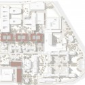 "New Buildings of the ""Klinikum 2015"" Plan for Karlsruhe Medical Centre (6) site plan / Courtesy of gmp Architekten"