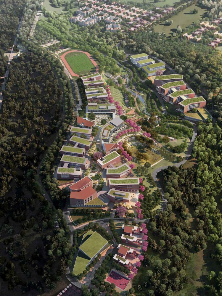 Universidad del Istmo Master Plan and Implementation / Sasaki Associates