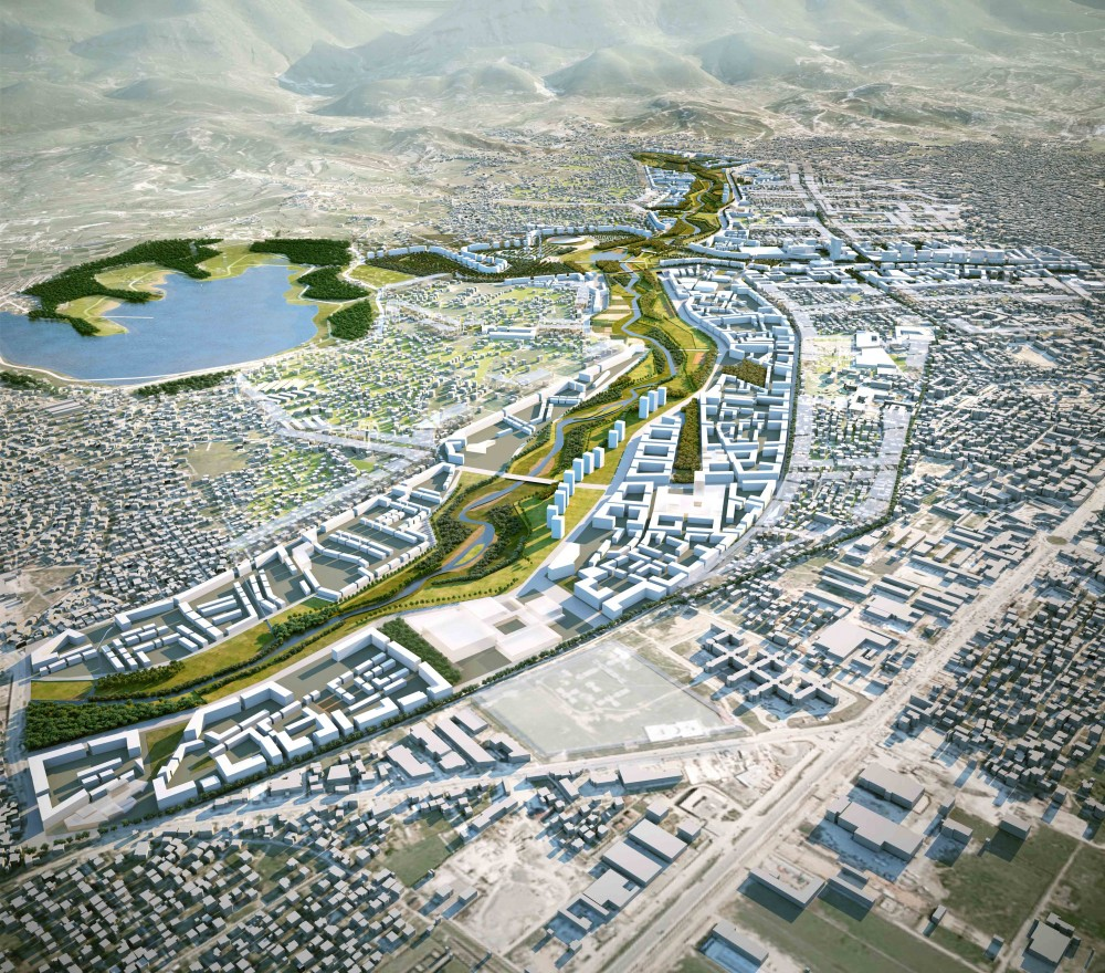 Building Tirana's Green Future: Tirana Northern Boulevard and River Project / Cino Zucchi Architetti