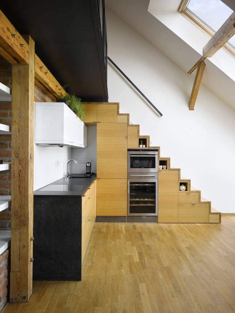 Mini-Loft Apartment in Prague / Dalibor Hlavacek