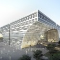 Changzhou Culture Center (2)  Crystal Digital Technology