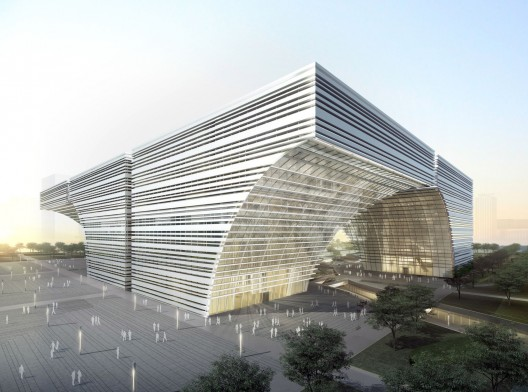 Changzhou Culture Center / gmp Architekten | ArchDaily