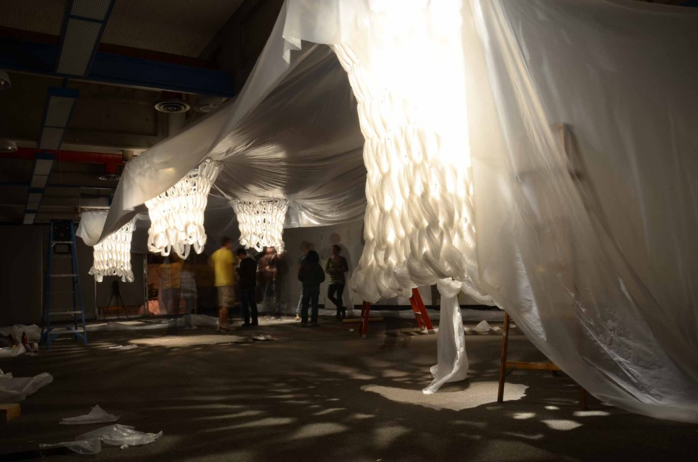 &#8220;White&#8221; Book Show Installation 2011 / Cal Poly San Luis Obispo Studio 400