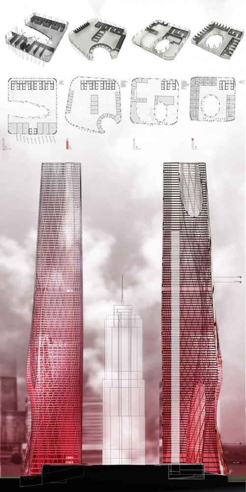 The Devoid Tower / Daniel Caven