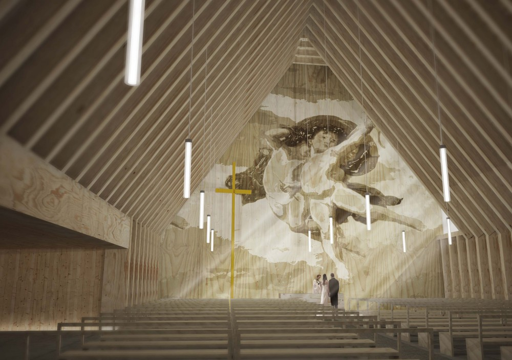 New Våler Church Proposal / We Are You
