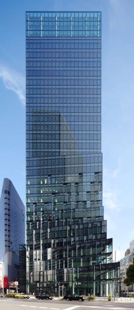 Fukoku Tower / Dominique Perrault