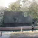 Australian Pavilion for Venice Biennale Winning Proposal (3) east view / Courtesy of Denton Corker Marshall