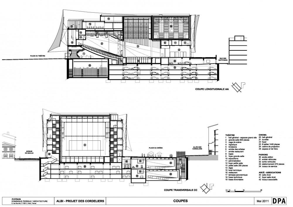 Architecture Photography Albi Major Theatre 19 224218