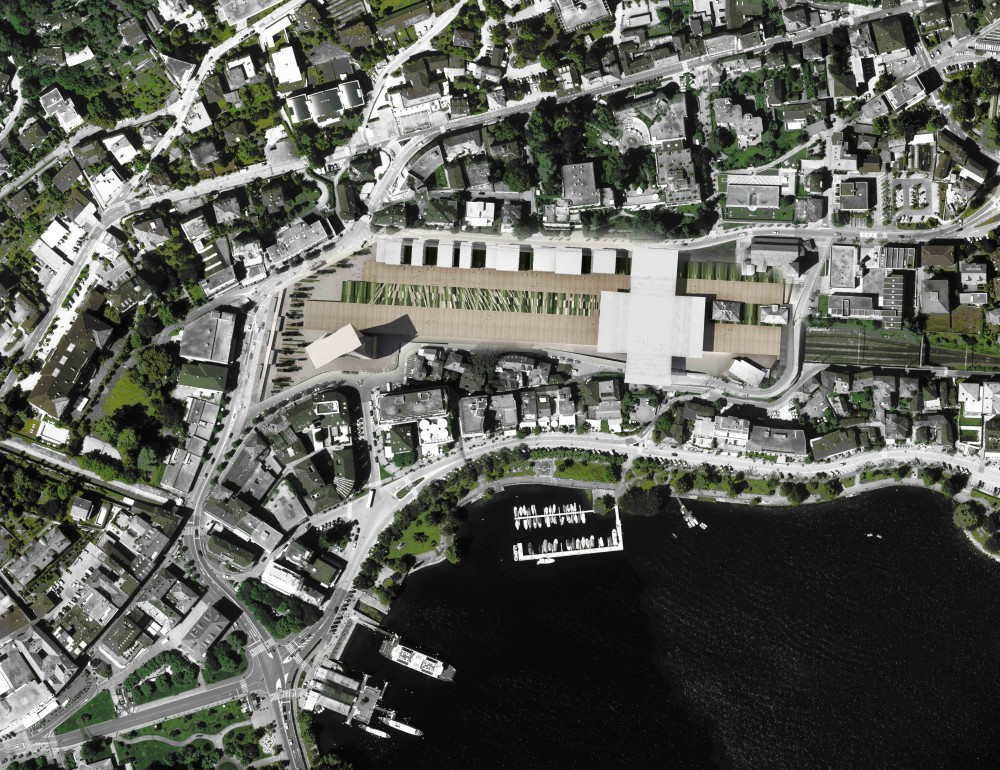 FFS Train Station District / Dominique Perrault Architecture