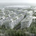 Skolkovo Technopark District D2 Residential Area (1) Courtesy of Saltans Architects_International + Jaeger and Partner Architects